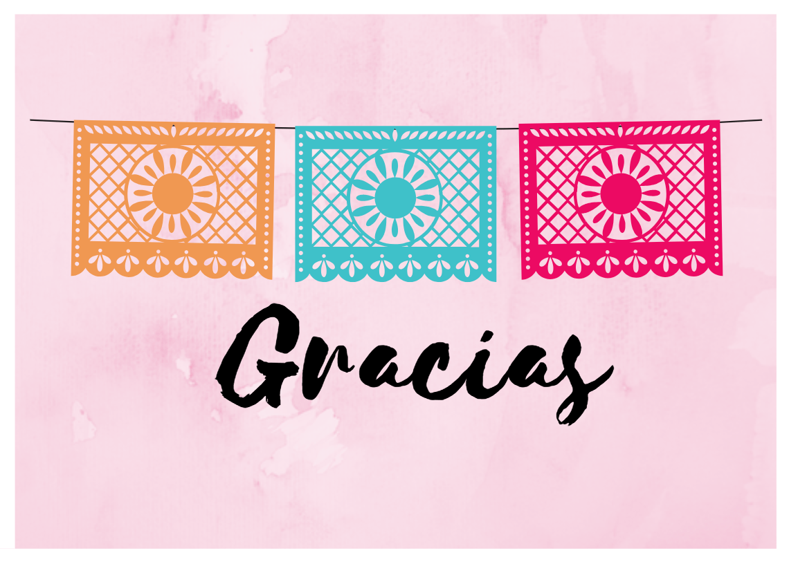 Giving Thanks and FREE Thank You Cards in Spanish ...