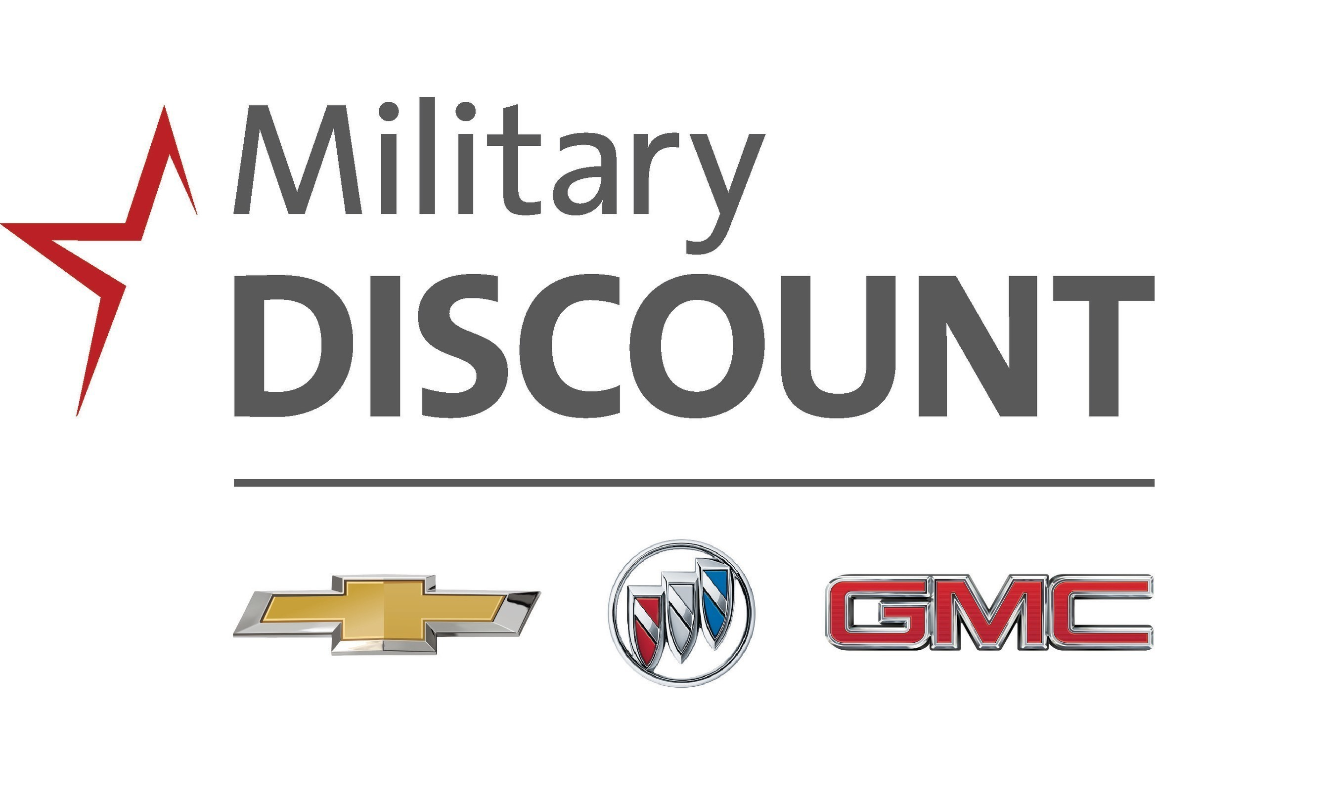 Chevrolet Buick And Gmc Expand Military Discounts