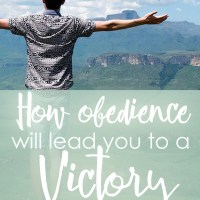 How obedience will lead you to a victory