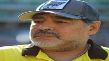 Maradona hospitalized due to symptoms of depression