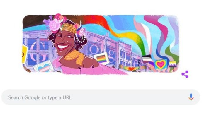 Marsha P Johnson Google Doodle: Google is remembering transgender activist Marsha P Johnson, dedicates this special doodle