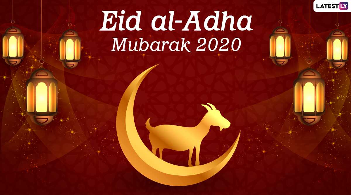 Hari Raya Haji 2020 Greetings Eid Al Adha Hd Images Say Eid Al Azha Mubarak To Your Friends And Relatives Send These Best Hindi Whatsapp Stickers Facebook Messages Gif Greetings Hd Images Quotes