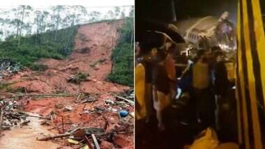 Air India Express Plane Crash in Kozhikode: Two major accidents in Kerala in the last 24 hours, a plane crash in Kozhikode after a landslide in Idukki
