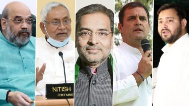 Bihar Assembly Election 2020: The issue of Section-370 sprung in Bihar elections, BJP said- Congress and RJD clear their stand
