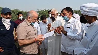 Deputy Chief Minister Manish Sisodia inspected the proposed site of Sports University, said - this university will brighten the name of India in the world