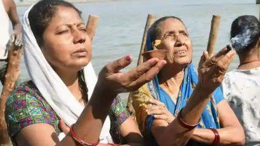 Chaiti Chhath Puja 2021: Maharashtri Chaiti Chhath begins with public faith in Bihar