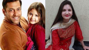Bajrangi Bhaijaan's Munni i.e. Harshali Malhotra has become big, shared video on birthday