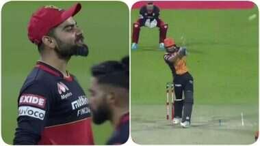 मनीष पांडे ने इस गगनचुंबी छक्के का जवाब एलिमिनेटर मैच में विराट कोहली की गेंद पर दिया, यहां पढ़ें क्या है पूरा मामला