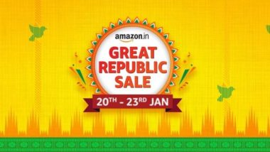 Amazon Great Republic Day Sale 2021: The first Amazon India sale of the new year from January 20 to 23, know what things will get attractive discounts