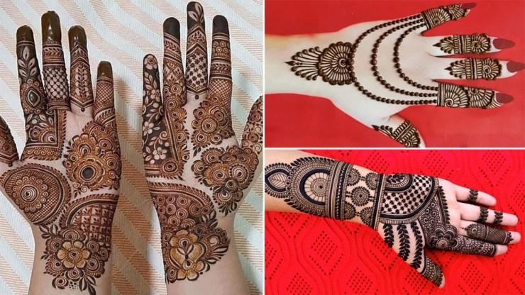 Eid Al-Fitr Mehendi Design 2021: Design your beautiful mehndi design on Eid al-Fitr in your own hands, see tutorials World Daily News24