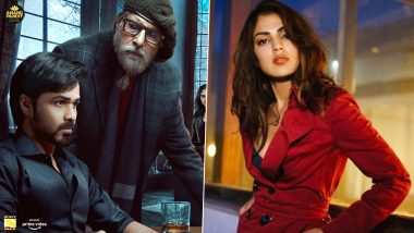 Amitabh Bachchan and Emraan Hashmi's film Chehre release date revealed, Riya Chakraborty missing from poster