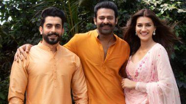 Adipurush: प्रभास और सैफ अली खान की फिल्म में कृति सेनन निभाएंगी सीता का किरदार, शेयर की फोटो