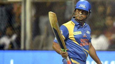 IND(L) vs SA(L) Road Safety Series 2021: सचिन तेंदुलकर और युवराज सिंह की विस्फोटक बल्लेबाजी, इंडिया लीजेंड्स ने दक्षिण अफ्रीका लीजेंड्स को दिया 205 रन का बड़ा लक्ष्य