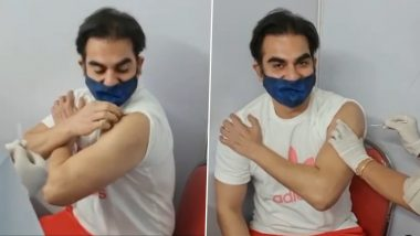 Arbaaz Khan gets the first dose of Corona vaccine, this special message to fans
