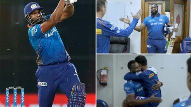 MI vs CSK, IPL 2021: असंभव मैच जीतने के बाद ऐसे हुआ पोलार्ड का ड्रेसिंग रूम में स्वागत, आलोचकों को दिया ये जवाब
