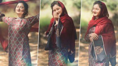 Rashami Desai Wishes Eid Mubarak: Rashmi Desai congratulates Eid in a traditional style, watch this charming video