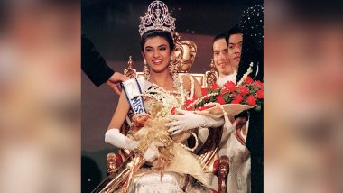 Sushmita Sen celebrating India's first win in Miss Universe competition, expressed happiness by sharing throwback photo