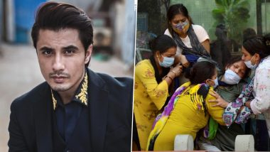 Pakistani actor Ali Zafar sought blessings for the country that is suffering from the Corona epidemic, said - we stand with you