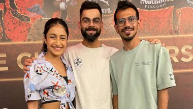 These interesting pictures shared by Yuzvendra Chahal's wife Dhanashree Verma to Virat Kohli