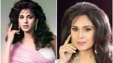 Rumors about Meenakshi Seshadri's demise on social media, see the latest pictures of the actress