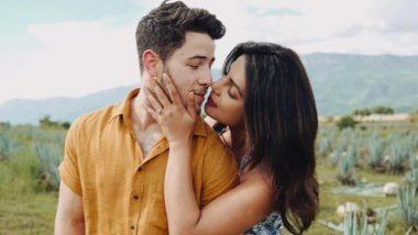 Priyanka Chopra shares romantic moments, lipstick mark on Nick Jonas's cheek