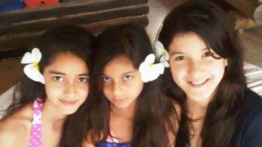 Happy Birthday Suhana Khan: Shanaya Kapoor shared fun video of childhood with Suhana Khan, seen dancing in cute style