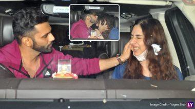 PHOTOS: Rahul Vaidya और Disha Parmar का एयरपोर्ट रोमांस! अपनी गर्लफ्रेंड पर जमकर प्यार बरसाते दिखे सिंगर