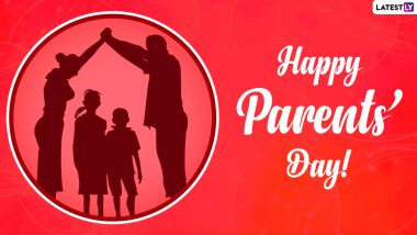 Global Day of Parents 2021 Wishes: Wish you best by sending WhatsApp Stickers, Messages, HD Images and Quotes on Global Parent's Day
