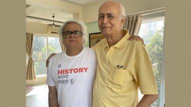 Filmmaker Hansal Mehta's Father Passes Away: Film director Hansal Mehta's father dies, information given on Twitter