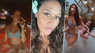 Tiger Shroff की बहन कृष्णा श्रॉफ ने बिकिनी पहन स्विमिंग पूल में लगाई आग, हॉट वीडियो किया शेयर