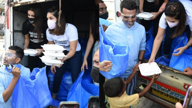 Sunny Leone along with husband Daniel Weber distributed food packets to the needy, see Photos World Daily News24