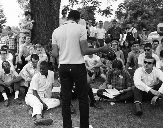 Freedom Summer Training before leaving for Oxford, Mississippi from Oxford, Ohio.