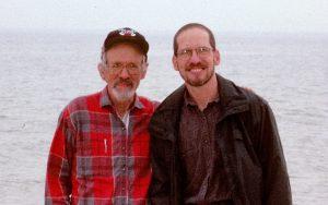 George Stocking with Ira Bashkow, 1995. Photo by Lise Dobrin.