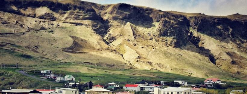 Paysage de campagne en Islande