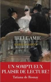 """Couverture du roman """"Belle-Amie"""" d'Harold Cobert (Les Escales, 2019)"""
