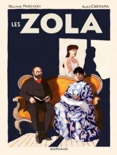 Couverture de la BD « Les Zola » (Dargaud, août 2019)