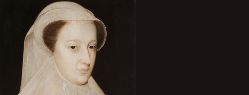 Portrait de Marie, Reine d'Ecosse, en tenue de deuil, par François Clouet (1560)