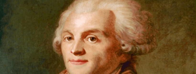 Portrait de Maximilien de Robespierre, vers 1790. Peintre anonyme. Musée Carnavalet, Paris.