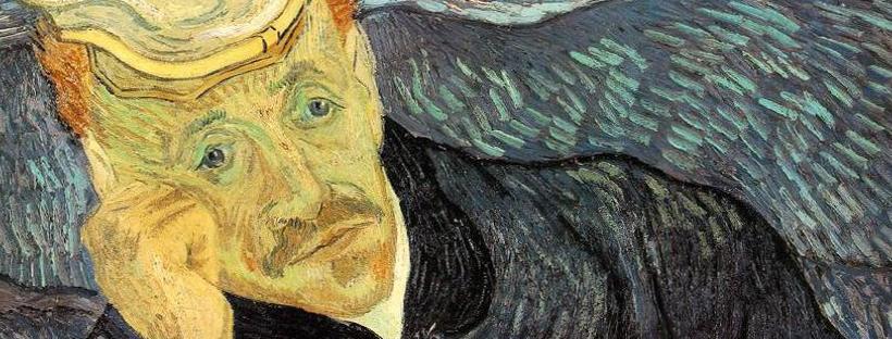 Vincent Van Gogh, Portrait du docteur Gachet, juin 1890 (détail)