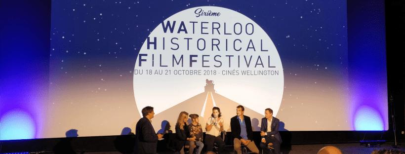 Photographie du débat d'ouverture à l'avant-première du film « Le Facteur Cheval », vendredi 19 octobre 2018