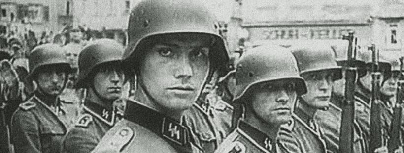 Photo de soldats néerlandais engagés dans la Waffen-SS pendant la seconde guerre mondiale