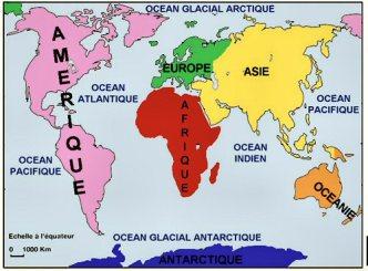 continent-ocean