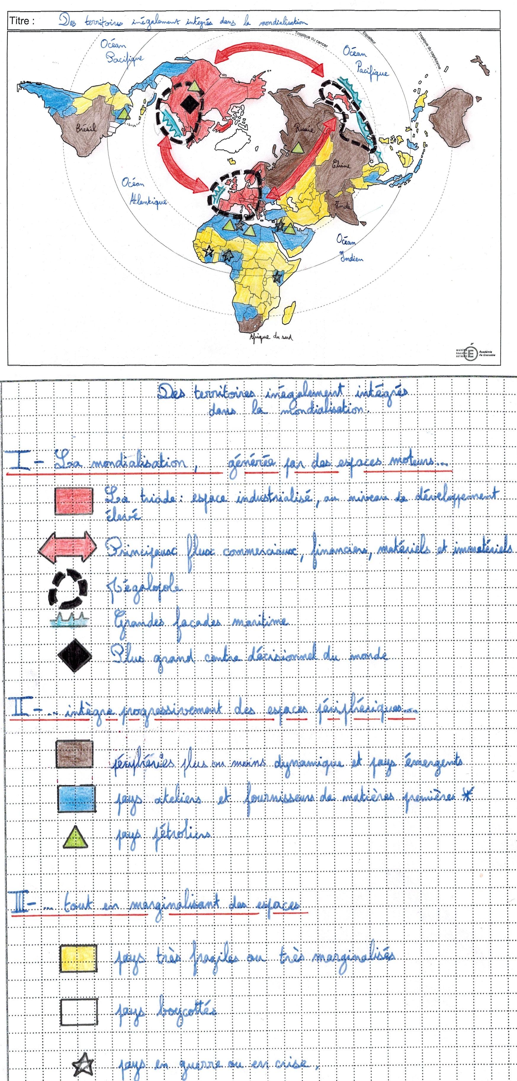 carte geo bac s Bac S Croquis et SIGLES – HISTOgraphie