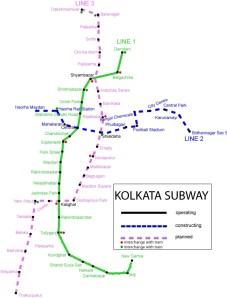 mapa-metro-calcuta