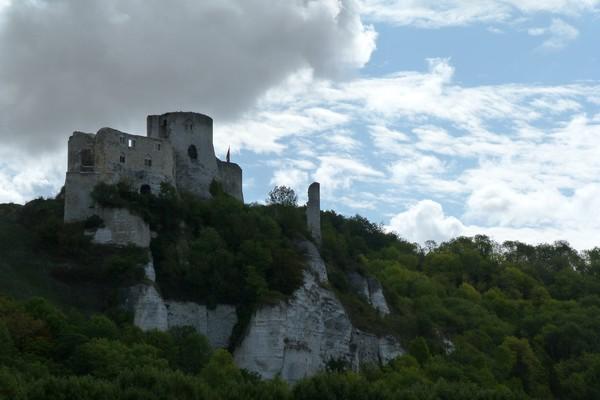Chateau Gaillard  défense ultime pour la Normandie de Richard Cœur de Lion 3-histoire sympa