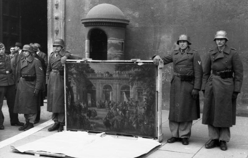 pillage nazi oeuvres d'art