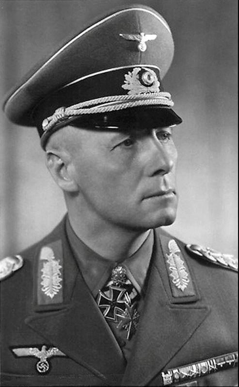 Erwin Rommel Mur de l'Atlantique Normandie 6 juin 1944