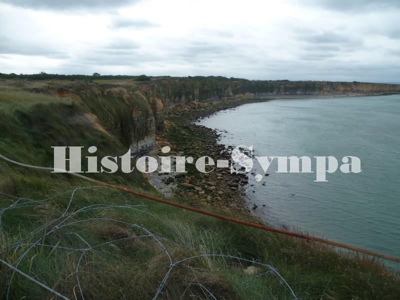 La pointe du Hoc, 6 juin 1944 en Normandie