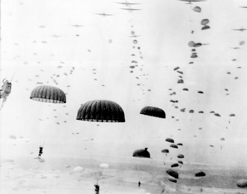 Jour J 1944 - parachutistes