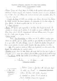 Inspection Primaire de Nyons / Bulletin d'inspection 2/2